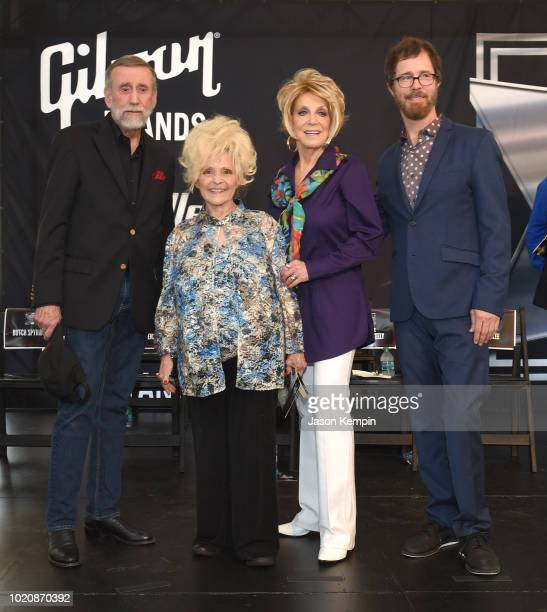 Ricky Skaggs attends the 2018 Music City Walk Induction Ceremony at Walk of Fame Park on August 21 2018 in Nashville Tennessee