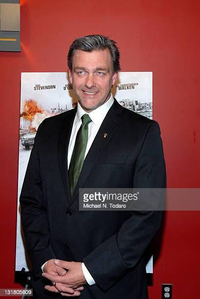 Ray Stevenson attends the premiere of 'Kill the Irishman' at Landmark's Sunshine Cinema on March 7 2011 in New York City