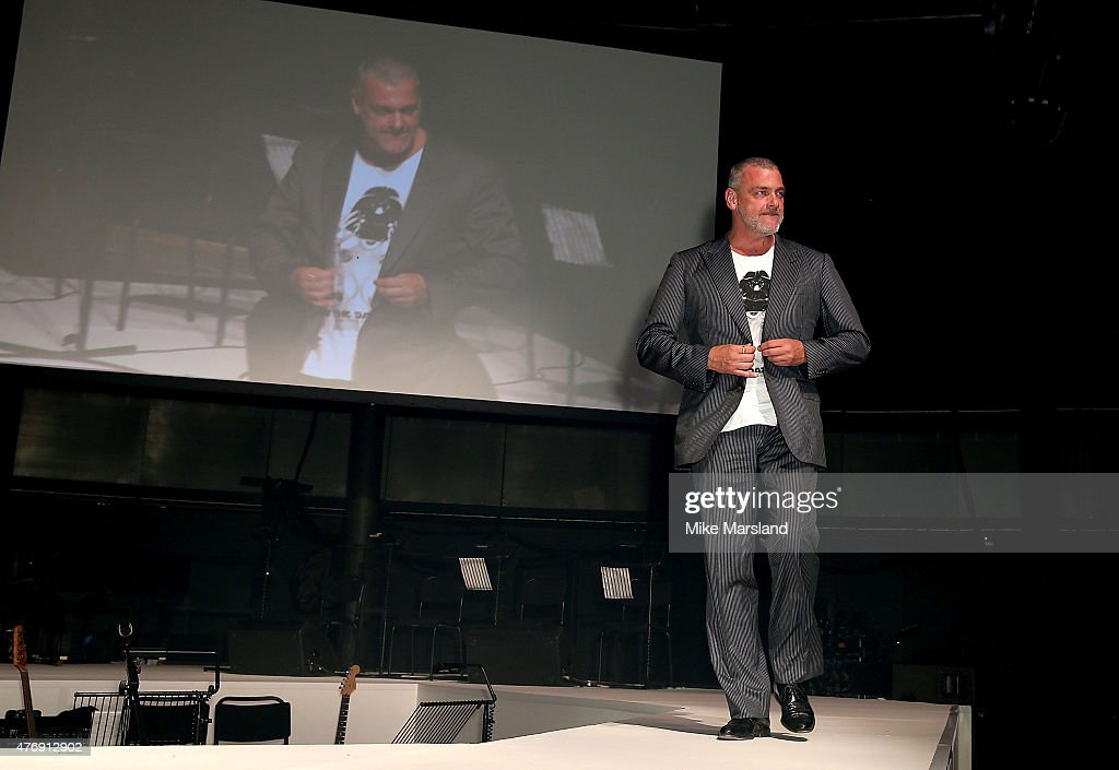 Ray Stevenson on the catwalk during One For The Boys Fashion Ball hosted by Samuel L. Jackson, uniting men against cancer to kick start London Collections Men at The Roundhouse on June 12, 2015 in London, England.