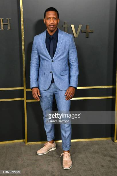 Ray Stoney attends the Premiere Of Apple TV's Truth Be Told at AMPAS Samuel Goldwyn Theater on November 11 2019 in Beverly Hills California