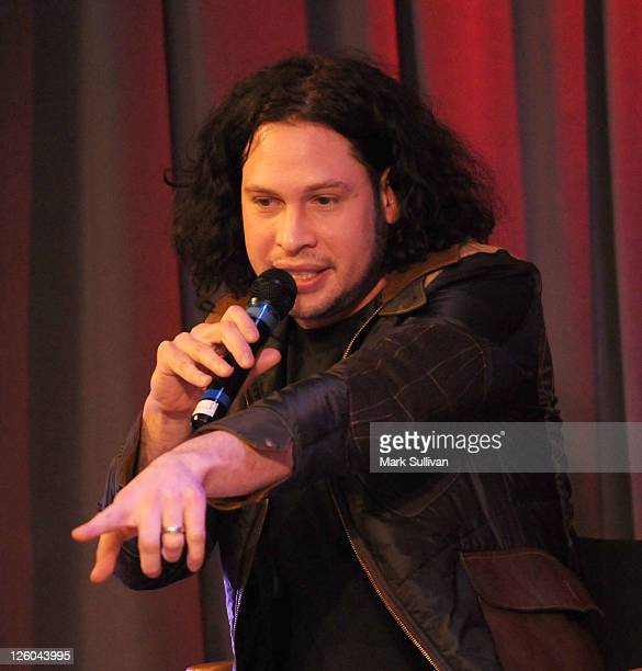 Ray Toro of My Chemical Romance during American Express Presents My Chemical Romance at The GRAMMY Museum on January 26 2011 in Los Angeles California
