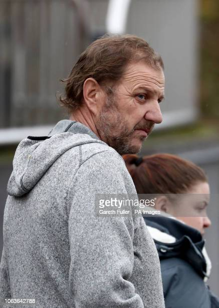 Ray Weatherall leaves Maidstone Crown Court after his wife Hayley Weatherall and her lover Glenn Pollard were sentenced to life imprisonment over a...