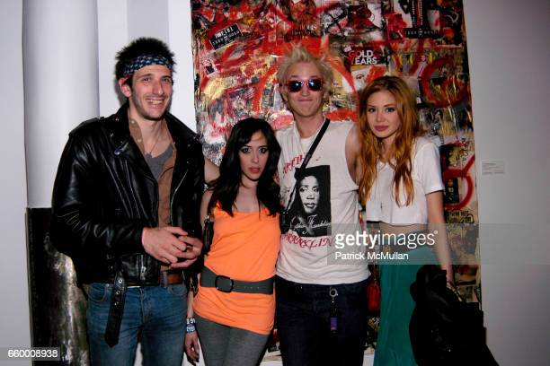 Ray Weiss Aesha Waks Liam McMullan and Alexandra Lenas attend IZZY GOLD RECORDS Throws A GRAND CELEBRATION In Honor of the NEW HEADQUARTERS at 95...