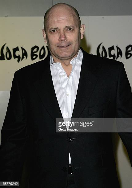Ray Wilkins arrives at the launch of Nike's 'Joga Bonito' at the Truman Brewery on February 7 2006 in London England Wayne Rooney Rio Ferdinand...