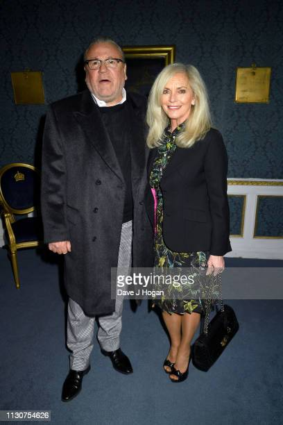 Ray Winstone and Elaine Winstone attend the opening night of Only Fools and Horses The Musical at Theatre Royal Haymarket on February 19 2019 in...