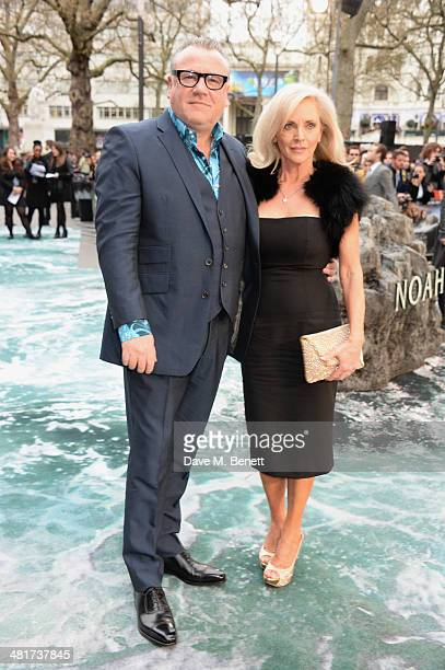 Ray Winstone and Elaine Winstone attend the UK Premiere of 'Noah' at Odeon Leicester Square on March 31 2014 in London England