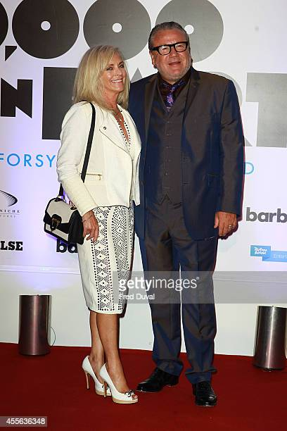 """Ray Winstone and Elaine Winstone attends the """"20,000 Days on Earth"""" screening at Barbican Centre on September 17, 2014 in London, England."""