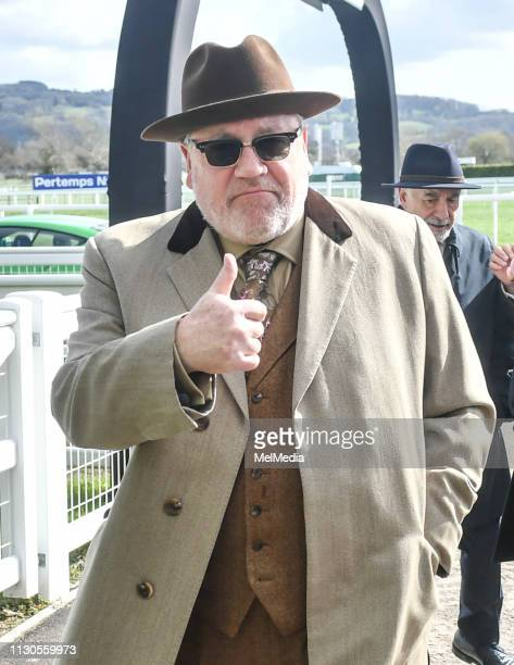 Ray Winstone at ST Patrick's Thursday at Cheltenham Racecourse for The Festival 2019 on March 14 2019 in Cheltenham Gloucestershire England