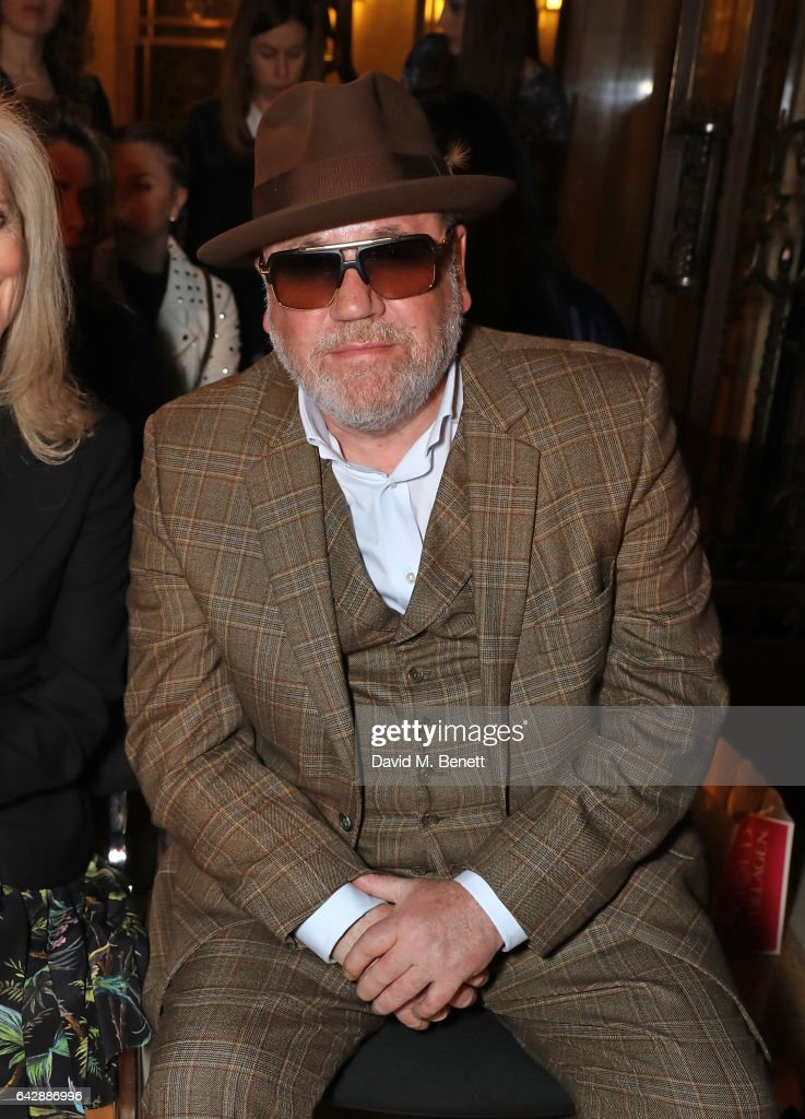 Pam Hogg - Front Row - LFW February 2017