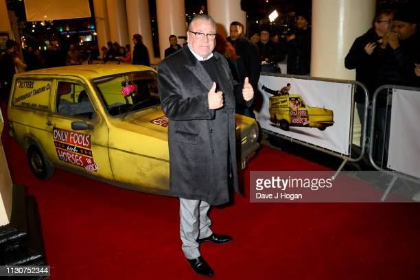 Ray Winstone attends the opening night of Only Fools and Horses The Musical at Theatre Royal Haymarket on February 19 2019 in London England