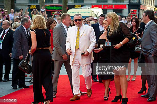 Ray Winstone attends the UK Film Premiere of 'The Sweeney' at Vue Leicester Square on September 3, 2012 in London, England.