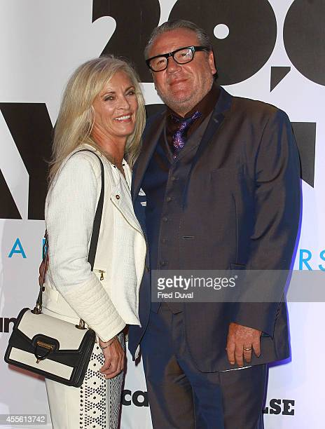 """Ray Winstone: guest attends the """"20,000 Days on Earth"""" screening at Barbican Centre on September 17, 2014 in London, England."""