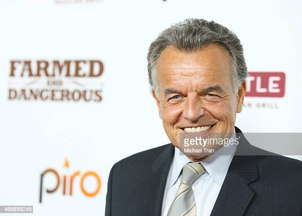 Ray Wise arrives at the Chipotle world premiere of original comedy web series 'Farmed And Dangerous' held at DGA Theater on February 11 2014 in Los...