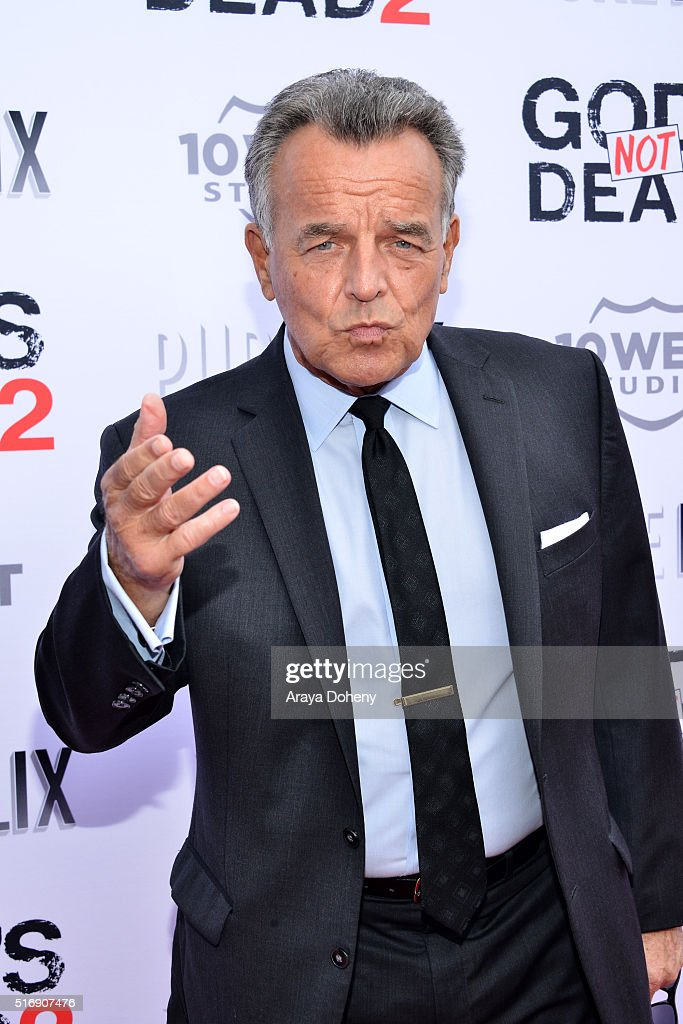 Ray Wise attends the premiere of Pure Flix Entertainment's 'God's Not Dead 2' at Directors Guild Of America on March 21, 2016 in Los Angeles, California.