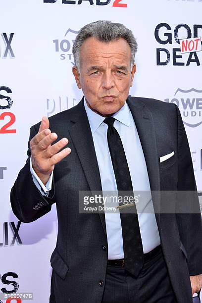 Ray Wise attends the premiere of Pure Flix Entertainment's 'God's Not Dead 2' at Directors Guild Of America on March 21 2016 in Los Angeles California