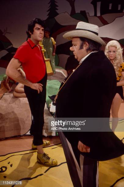 Ray Young, Dale Malone, Nancee Parkinson appearing in the Walt Disney Television via Getty Images tv movie 'Li'l Abner'.