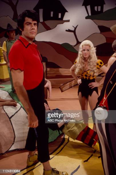 Ray Young Nancee Parkinson appearing in the Walt Disney Television via Getty Images tv movie 'Li'l Abner'