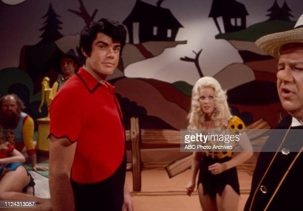 Ray Young Nancee Parkinson Dale Malone appearing in the Walt Disney Television via Getty Images tv movie 'Li'l Abner'