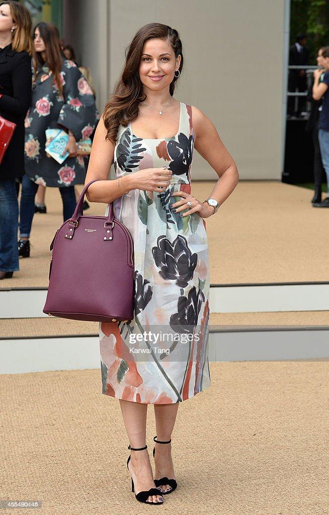 Burberry Prorsum: Arrivals - London Fashion Week SS15