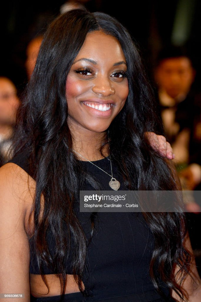 Rayah Houston attends the screening of 'Whitney' during the 71st annual Cannes Film Festival at Palais des Festivals on May 16, 2018 in Cannes, France.
