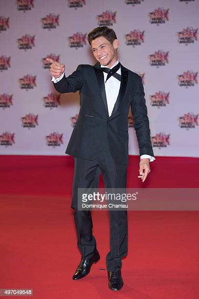 Rayane Bensetti attends the 17th NRJ Music Awards at Palais Des Festivals In Cannes on November 7 2015 in Cannes France