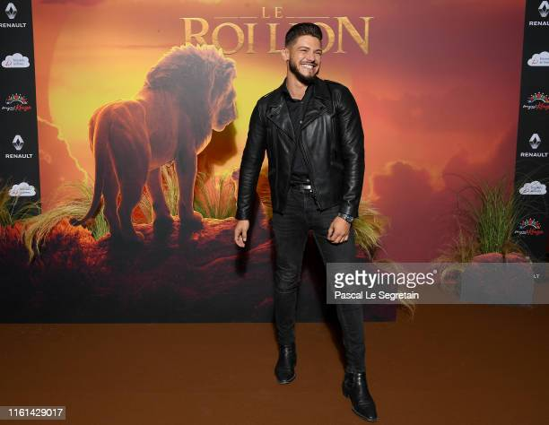 Rayane Bensetti attends The Lion King Paris Gala Screening At Le Grand Rex on July 11 2019 in Paris France
