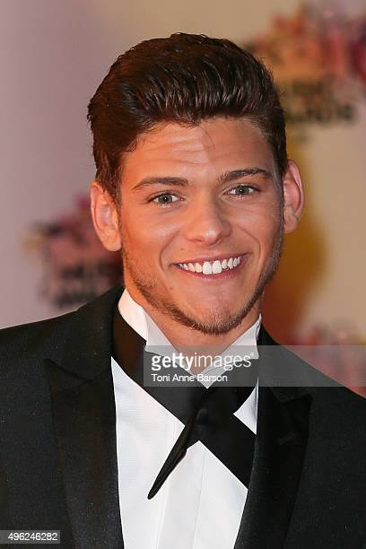 Rayane Bensetti attends the17th NRJ Music Awards at Palais des Festivals on November 7 2015 in Cannes France