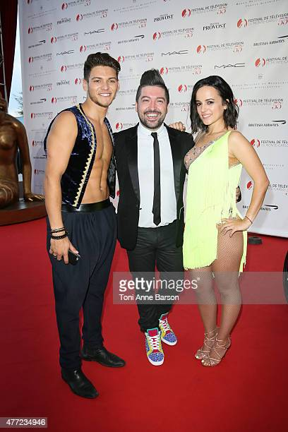 Rayane Bensetti Chris Marques and Alizee perform for Dance Avec Les Stars at the Grimaldi Forum on June 14 2015 in MonteCarlo Monaco