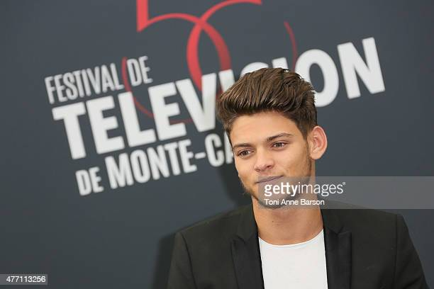 Rayanne Bensetti poses at a photocall for the TV series 'PEP'S' during the 55th Monte Carlo TV Festival on June 14 2015 in MonteCarlo Monaco