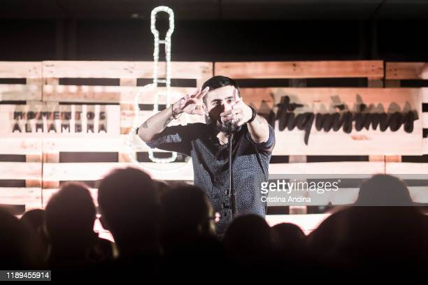 Rayden performs on stage at Palexco on November 22 2019 in A Coruna Spain