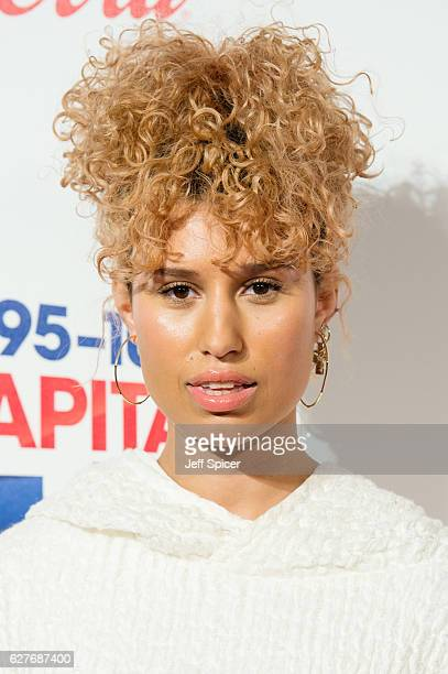 Raye attends Capital's Jingle Bell Ball with CocaCola on December 4 2016 in London United Kingdom