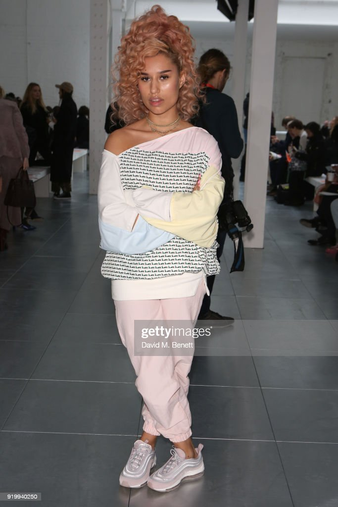 Fashion East - Front Row - LFW February 2018
