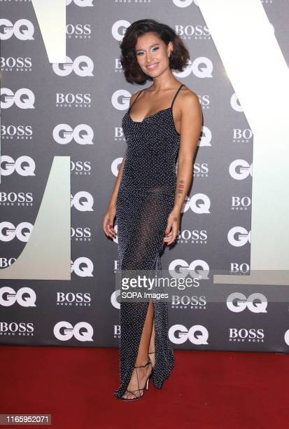Raye attends the GQ Men of the Year Awards held at the Tate Modern Bankside in London