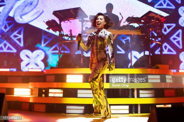Raye performs at O2 Academy Brixton on March 14 2020 in London England