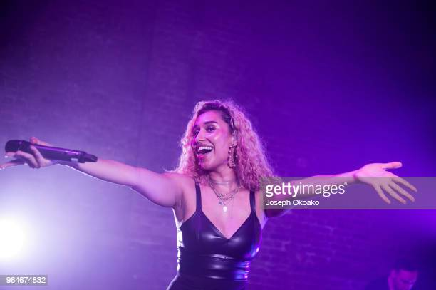 Raye performs live on stage at Village Underground on May 31 2018 in London England