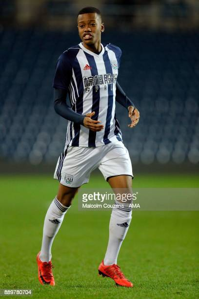 Rayhaan Tulloch of West Bromwich Albion during the FA Youth Cup game between West Bromwich Albion and Leyton Orient on December 5 2017 in West...