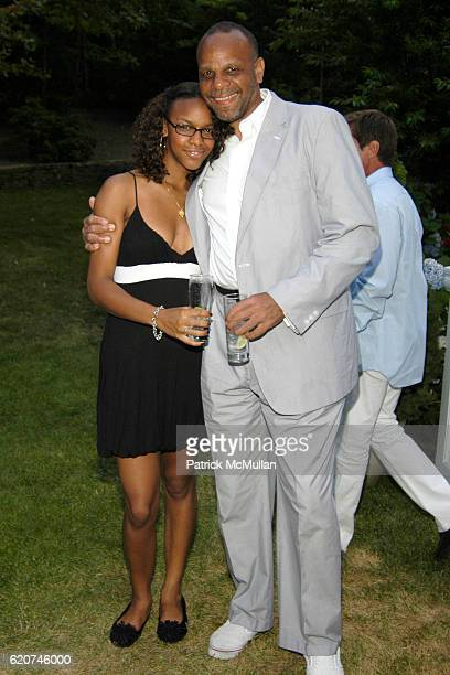 Rayissa Lopez Roden and Bill Roden attend The Rush Philanthropic ART FOR LIFE Party hosted by Don and Katrina Peebles at The Home of Don and Katrina...