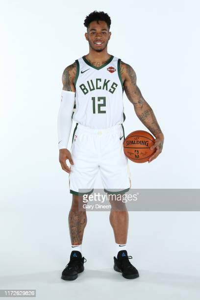 Rayjon Tucker of the Milwaukee Bucks poses for a portrait during Media Day at Fiserv Forum on September 30 2019 in Milwaukee Wisconsin NOTE TO USER...
