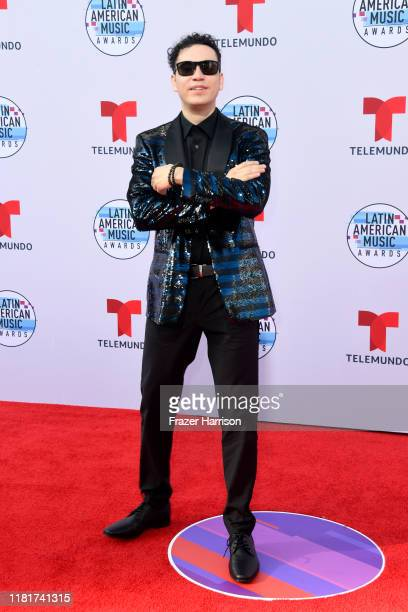 Raymix attends the 2019 Latin American Music Awards at Dolby Theatre on October 17 2019 in Hollywood California
