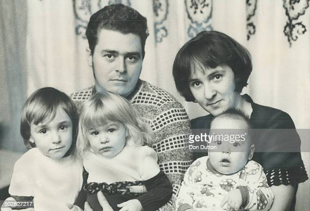 Raymond and claire Lagrandeur of Garson are pictured with their three children Denise Joanne and Raymond six months Their threeyearold son Richard...