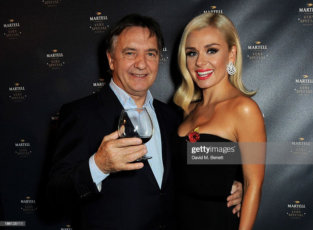 Raymond Blanc (L) and Katherine Jenkins attend a party which they hosted together to celebrate the launch of Martell Very Special Nights, a series of very special events bringing you food by culinary visionary Raymond Blanc, music by award-winning mezzo soprano Katherine Jenkins and the ultimate Cognac, Martell, at Le Caprice on October 28, 2013 in London, England.