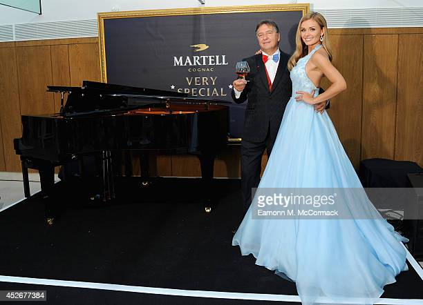 Raymond Blanc and Katherine Jenkins host A Martell Very Special Nights event at Belmond Le Manoir aux Quat'Saisons on July 25 2014 in Oxford England...
