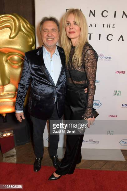 Raymond Blanc and Natalia Traxel attend the UK premiere of Dancing At The Vatican hosted by HDdennmore at BAFTA on February 5 2020 in London England