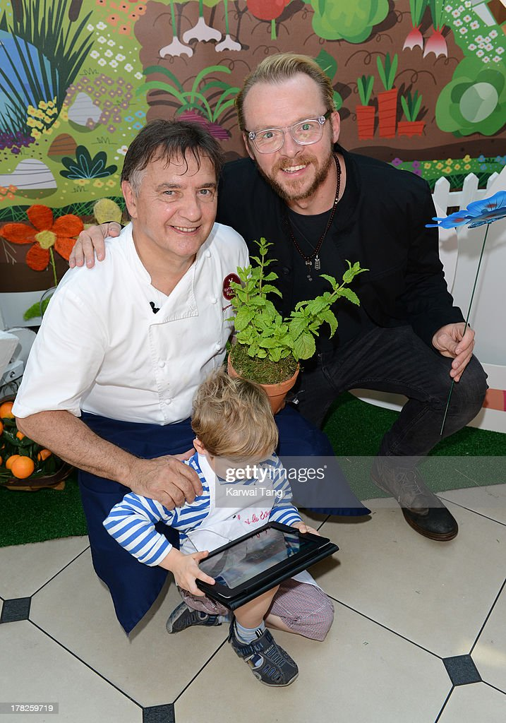 Raymond Blanc And Simon Pegg Launch New Childrens App 'Henri Le Worm'