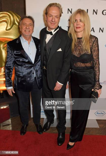 Raymond Blanc HDdennomore founder Charles Sabine and Natalia Traxel attend the UK premiere of Dancing At The Vatican hosted by HDdennmore at BAFTA on...