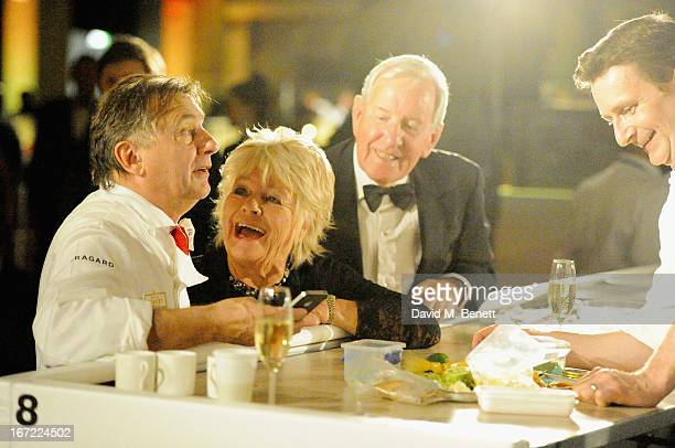Raymond Blanc Judith Chalmers and Neil DurdenSmith attends Relais Chateaux's 'Diner des Grands Chefs London 2013' in aid of Action Against Hunger at...