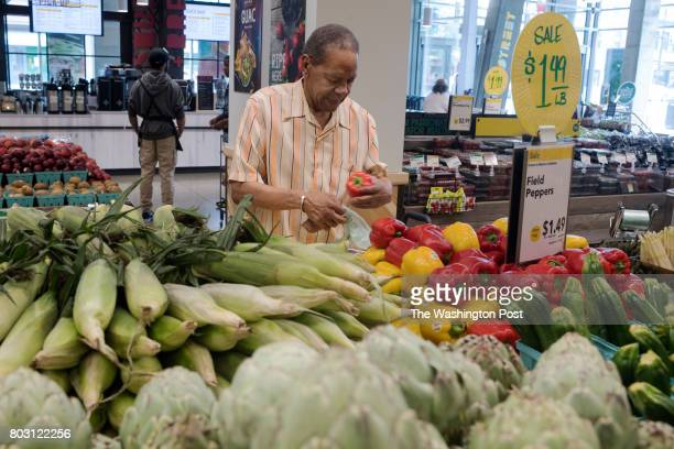 Raymond Blanks is a Ward 7 resident and shops at Safeway off Minnesota Avenue but usually takes the bus to Whole Foods to get what he needs in...
