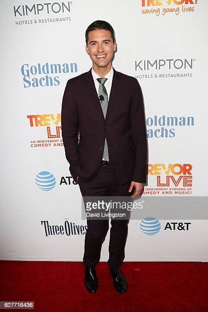 Raymond Braun arrives at the TrevorLIVE Los Angeles 2016 Fundraiser at The Beverly Hilton Hotel on December 4 2016 in Beverly Hills California