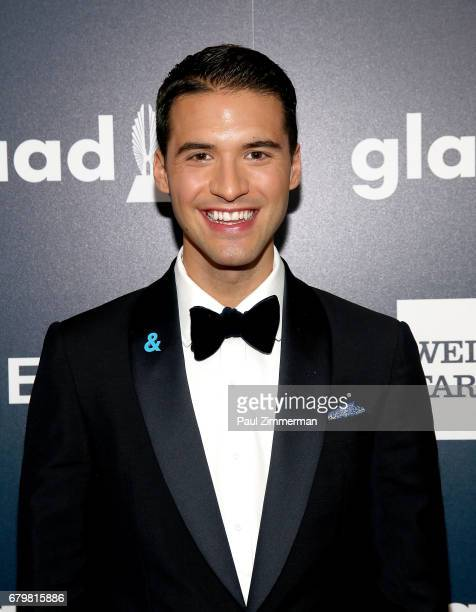 Raymond Braun attends the 28th Annual GLAAD Awards at New York Hilton Midtown on May 6 2017 in New York City