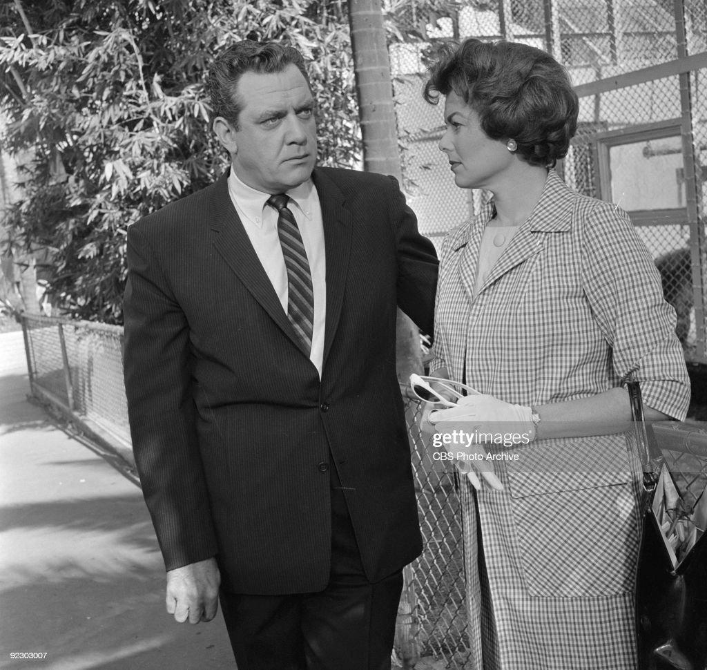 Scene From Perry Mason TV Series : News Photo